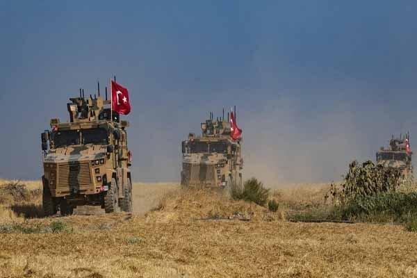 ورود کاروان نظامی ارتش ترکیه به حومه حماه
