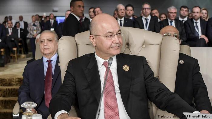درخواست ائتلاف العبادی از برهم صالح