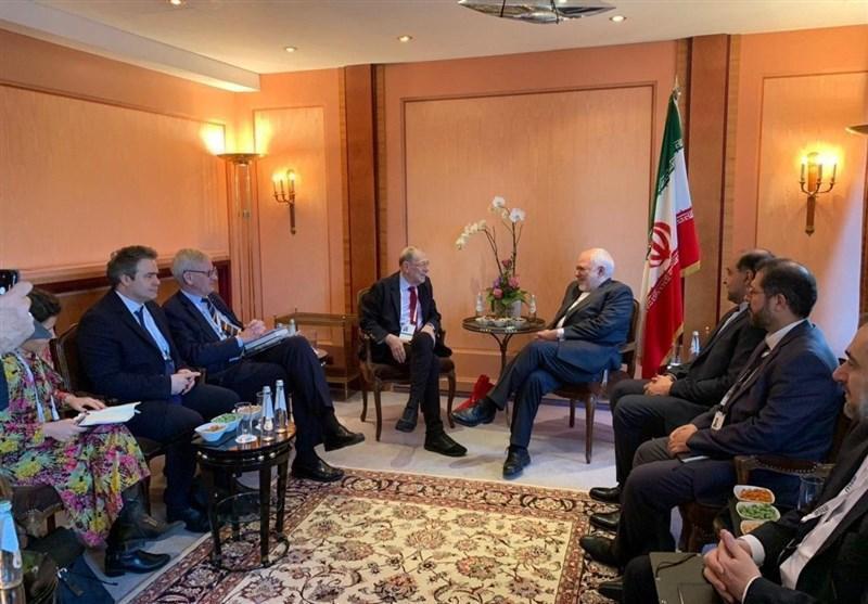 ظریف با اعضای شورای روابط خارجی اتحادیه اروپا ملاقات کرد