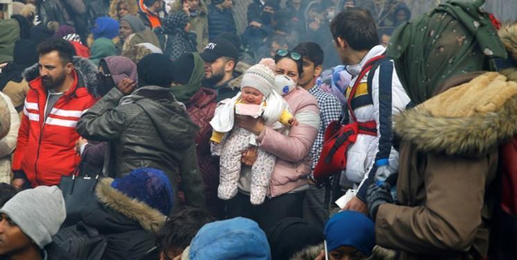 عبور 135 هزار مهاجر از مرز ترکیه به مقصد یونان