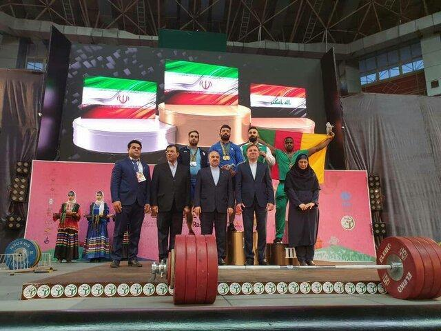 وزنه برداران همچنان منتظر جایزه دلاری جام فجر، مارتیروسیان: ایران گفت جایزه را بعدا می دهیم