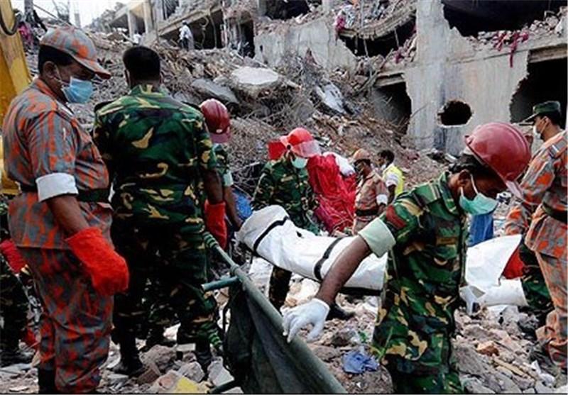 شمار تلفات فروپاشی ساختمان در بنگلادش از 640 نفر گذاشت