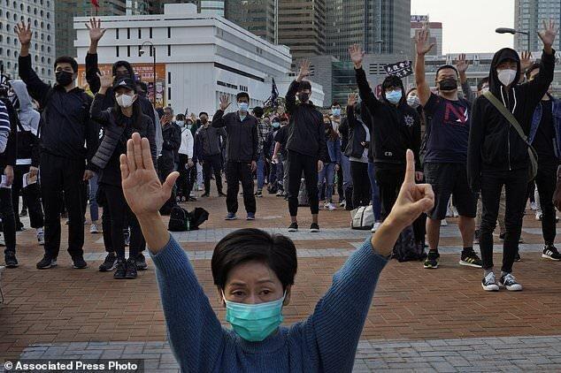 تظاهرات هنگ کنگی ها برای جلب حمایت بین المللی