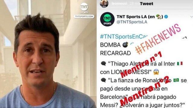 رسانه آرژانتینی پاسخ مسی را داد