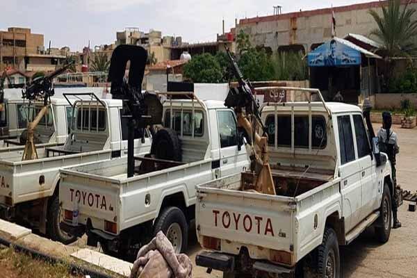 شمار دیگری از افراد مسلح در التنف تسلیم ارتش سوریه شدند
