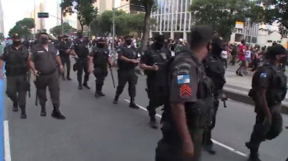 تظاهرات هزاران نفری در برزیل علیه نژادپرستی