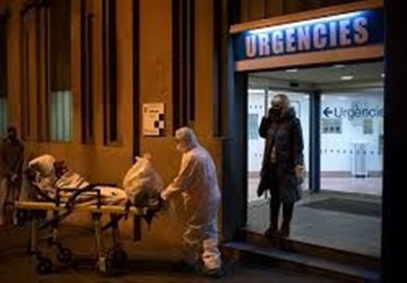 کرونا، مرگ 164 اسپانیایی در 24 ساعت