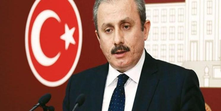 پیام تبریک رئیس مجلس ترکیه به محمد باقر قالیباف
