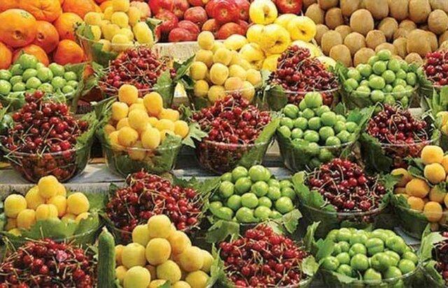 افزایش 50 درصدی قیمت میوه های تابستانه در بازار شهرکرد