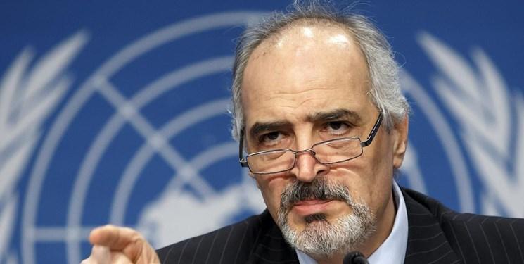 درخواست سوریه از سازمان ملل برای تشریح تخلفات آمریکا در نقض قوانین بین المللی