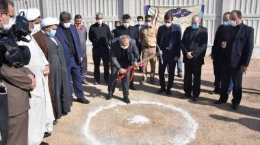 شروع عملیات عمرانی فاز اول دومین خوابگاه دانشجویی دانشگاه حضرت معصومه (س)