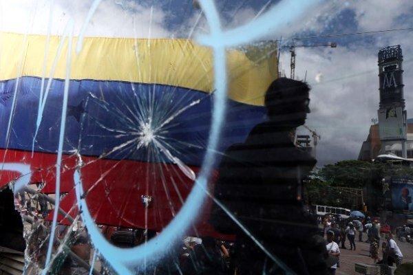 کنسولگری ونزوئلا در بوگوتا مورد تعرض قرار گرفت