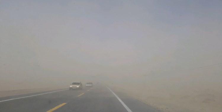 سرعت باد در زابل به 94 کیلومتر بر ساعت رسید