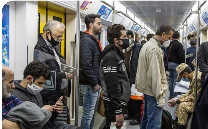 مسافری به نام کرونا در مترو ، موج سوم کووید19 با حمل ونقل عمومی جابه جا می گردد