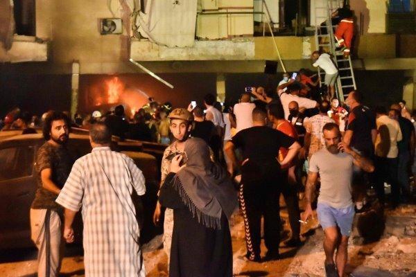 انفجار تانکر سوخت در غرب بیروت ، 4 نفر کشته شدند