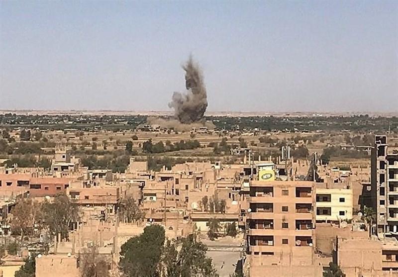 انفجاری مهیب در حومه استان حلب
