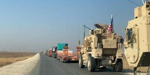 ارسال تجهیزات نظامی جدید آمریکا به شمال شرق سوریه