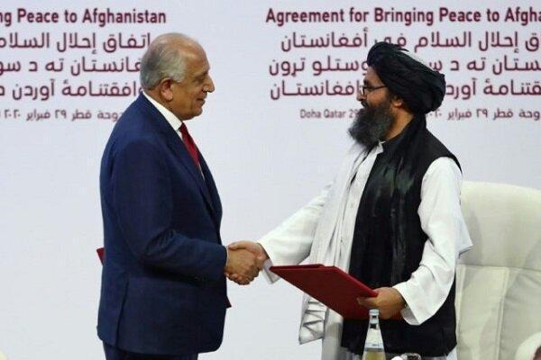 خلیلزاد با رئیس دفتر سیاسی طالبان ملاقات کرد
