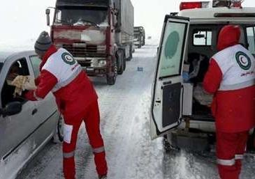 امدادرسانی به بیش از 4800 آسیب دیده متاثر در برف و کولاک