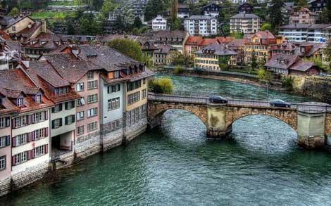 تصاویری زیبا از کشور آرام سوئیس