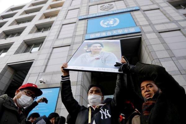 شورای امنیت خواهان آزادی سانگ سان سوچی رهبر غیررسمی میانمار شد