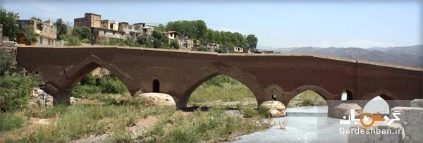 پل خشتی لوشان؛ سازه قاجاری گیلان، عکس