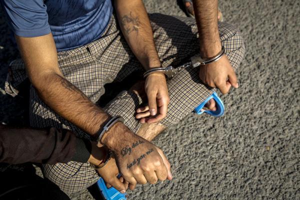 دستگیری دزد مغازه در زندان