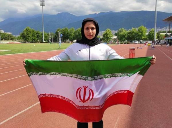 مهلا محروقی به مسابقات دوومیدانی قهرمانی جوانان دنیا راه یافت، اولین سهمیه برای زنان ایران