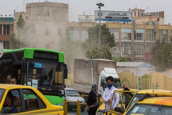 خیزش گرد و خاک و کاهش کیفیت هوا در بعضی مناطق کشور