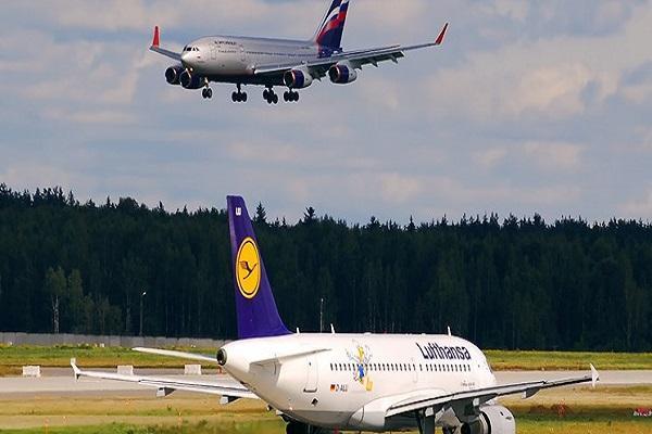 آلمان و روسیه آسمان خود را به روی هواپیماهای مسافربری مقابل بستند