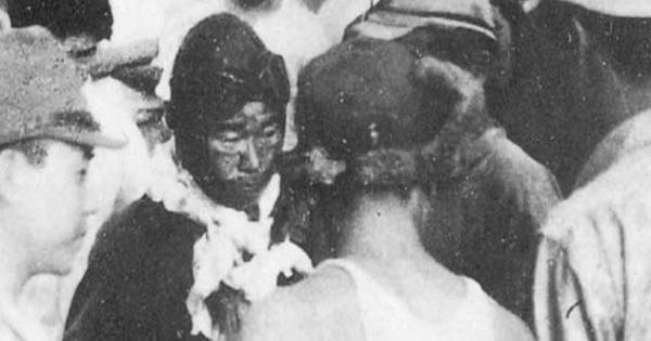 این خلبان ژاپنی علیرغم زخمی شدن از صورت و از دست بینایی یک چشم، به خانه بازگشت!